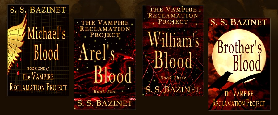 S. S. Bazinet's book series, The Vampire Reclamation Project